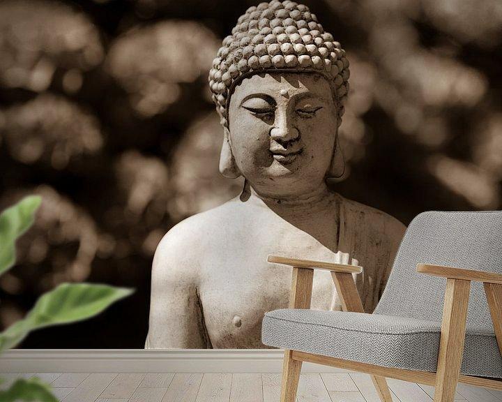 Sfeerimpressie behang: Boeddha, Boedha van Leo Langen