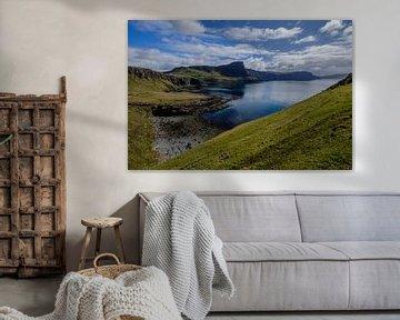 Zeelandschap in Schotland von Koos de Wit