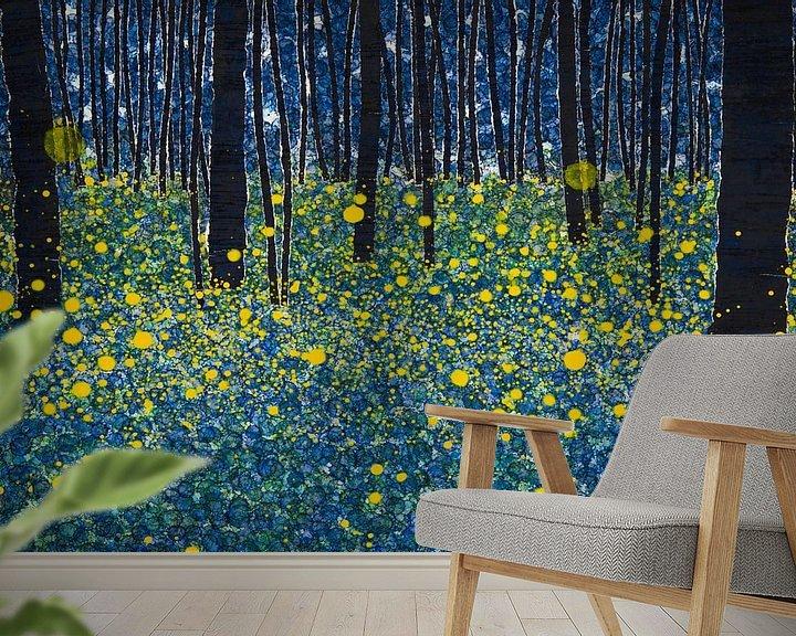Sfeerimpressie behang: LUMINOUS van db Waterman