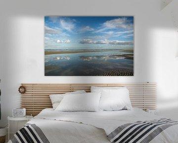 Zee&wolken van Irene Lommers