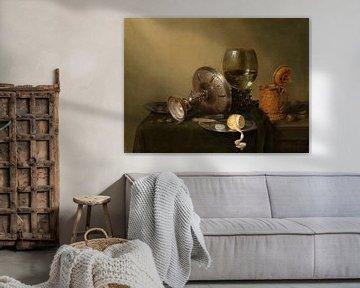 Stillleben mit vergoldetem Pokal, Willem Claesz. Heda