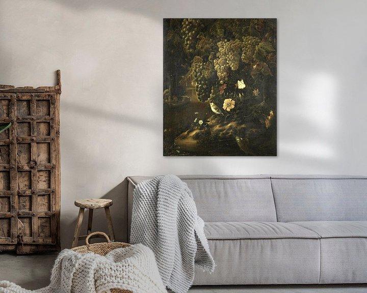 Sfeerimpressie: Druiven, bloemen en dieren, Isac Vromans