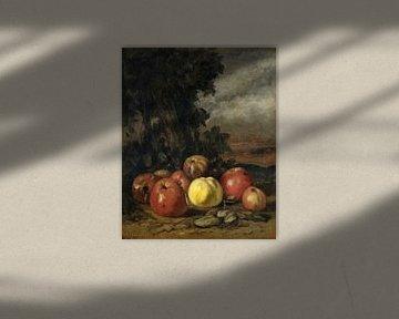 Stillleben mit Äpfeln, Gustave Courbet