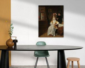 Die Bleichsüchtige, Samuel van Hoogstraten