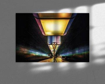 U-Bahnstation HafenCity Universität van Holger Debek