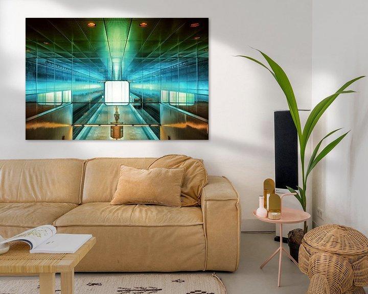 Beispiel: Hamburg - U-Bahnstation HafenCity Universität von Holger Debek