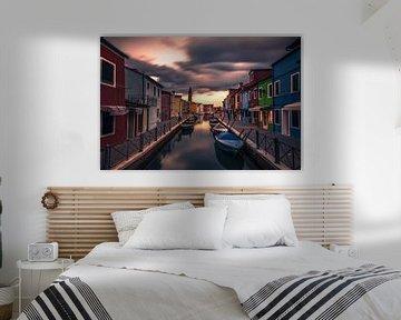 Colors of Burano van Niels Tichelaar