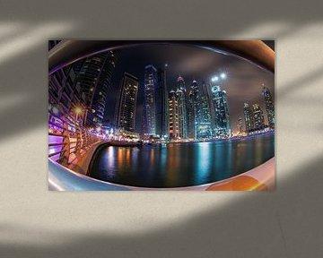 Dubai Marina van Niels Tichelaar