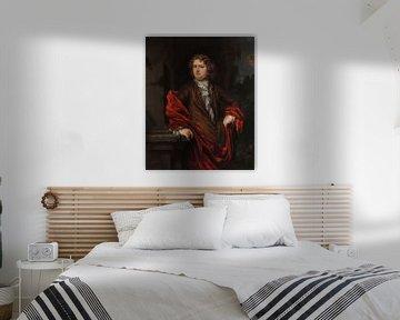 Porträt von Pieter Groenendijk, Nicolaes Maes