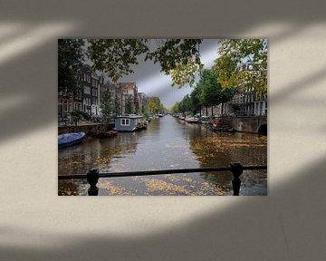Herengracht vanaf de Brouwersgracht gezien von Wiljo van Essen