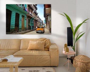 Scène de rue authentique de La Havane sur Zoe Vondenhoff