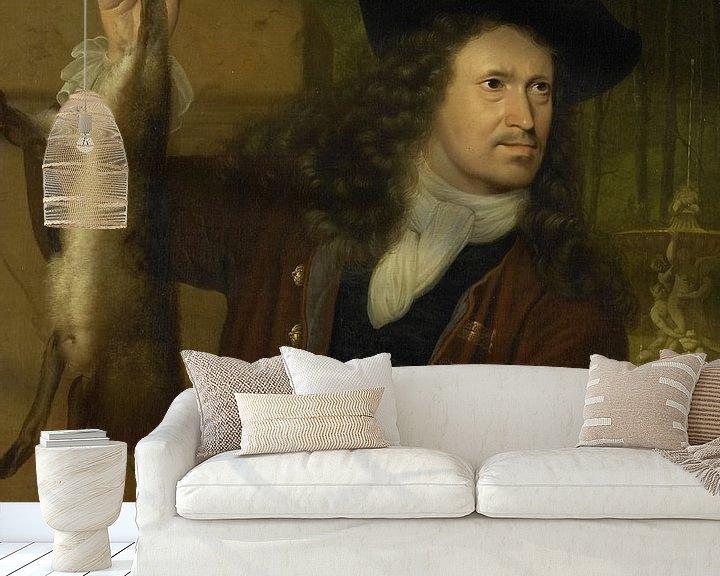 Beispiel fototapete: Jan de Hooghe, Ludolf Bakhuysen