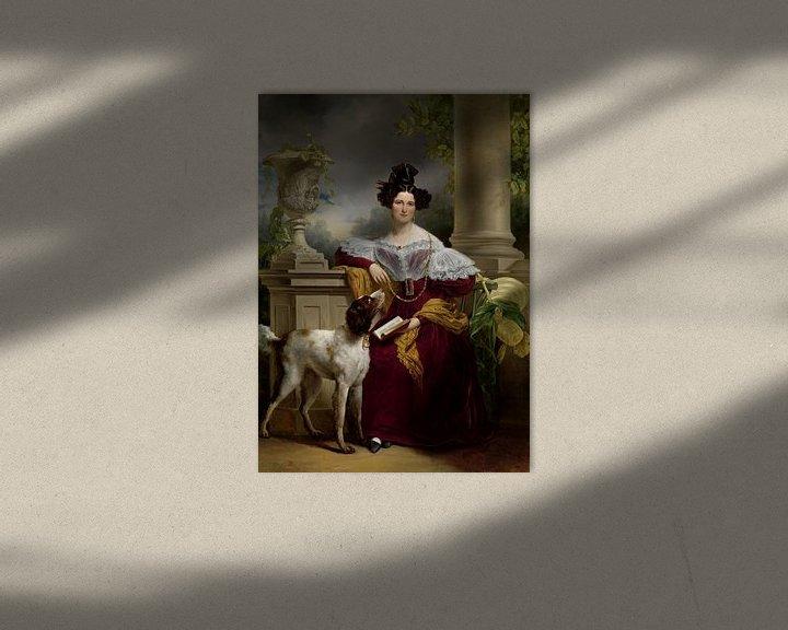 Sfeerimpressie: Portret van Alida Christina Assink, Jan Adam Kruseman