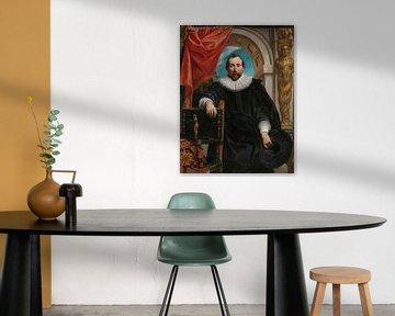 Porträt von Rogier Le Witer, Jacob Jordaens der Ältere