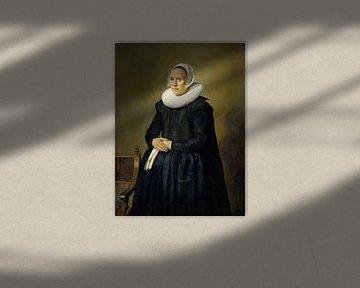 Porträt von Feyntje van Steenkiste, Frans Hals