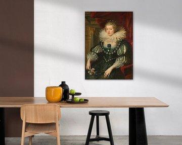 Anna von Österreich, Peter Paul Rubens