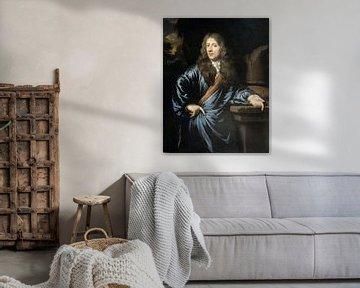 Porträt von Willem Pottey, Nicolaes Maes