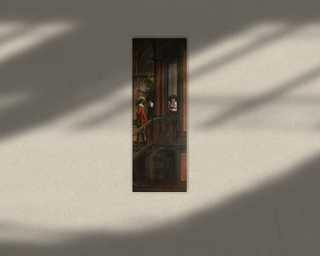 Siebenteilige Sequenz: Eine Außentreppe, Dirck van Delen