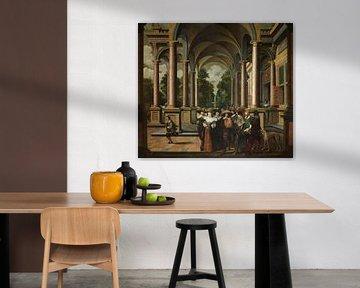 Siebenteilige Sequenz: Eine Galerie, Dirck van Delen
