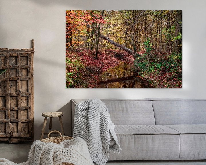 Sfeerimpressie: Kleuren van de natuur van Ratna Bosch