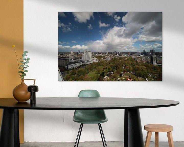 Impression: Overzicht over de skyline van Rotterdam sur André Muller