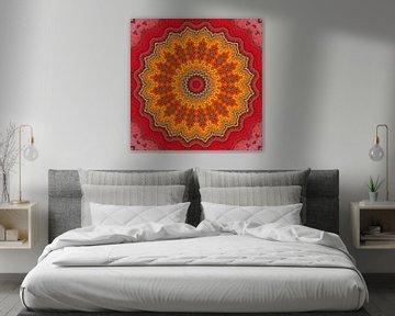 Mandala Mosaik  5 van Marion Tenbergen
