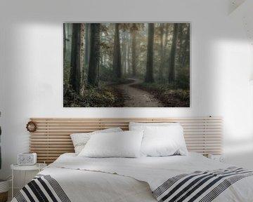 Behind the trees von Niels Barto