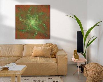 Grünes Feuer von Andrea Meyer