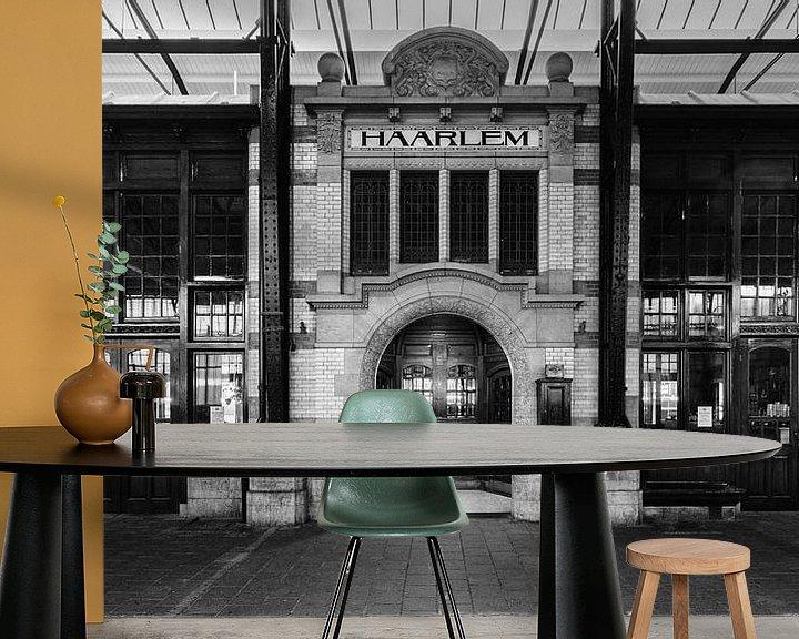 Beispiel fototapete: Haarlem: Station Restaurant entree 2 von Olaf Kramer