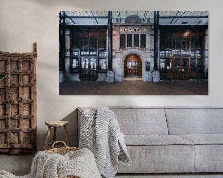 Sfeerimpressie: Haarlem: Station perron 3 restaurant van Olaf Kramer