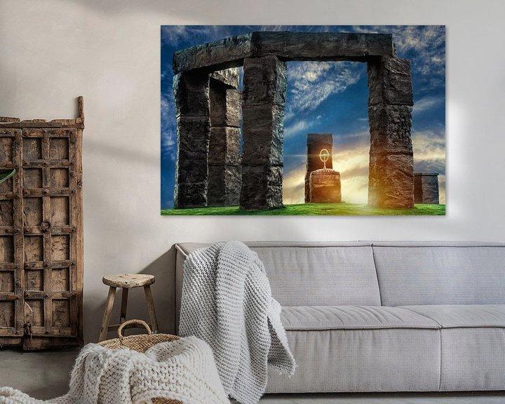 Sfeerimpressie: Stone hands Milsbeek van Above The Grid