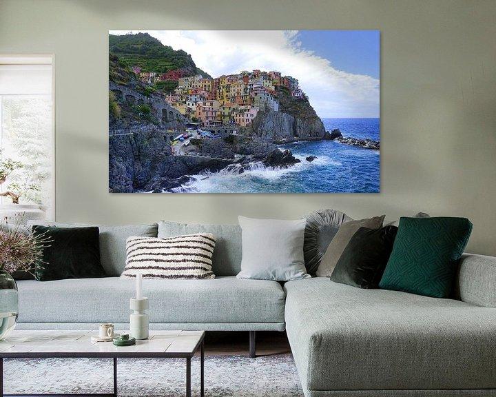 Sfeerimpressie: Manarola, Cinque Terre van Ineke Klaassen