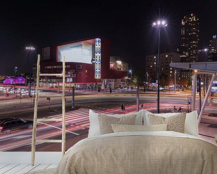 Sfeerimpressie behang: Het Nieuwe Luxor Theater in Rotterdam van MS Fotografie   Marc van der Stelt