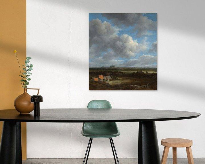Beispiel: Ansicht von Haarlem, Jacob Isaacksz. van Ruisdael