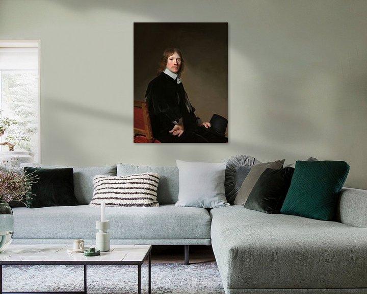 Beispiel: Porträt von Eduard Wallis, Johannes Cornelisz. Verspronck