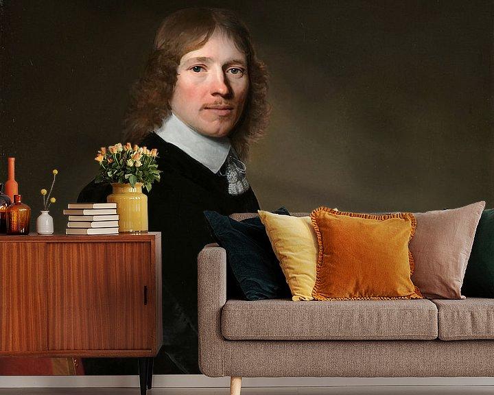Beispiel fototapete: Porträt von Eduard Wallis, Johannes Cornelisz. Verspronck