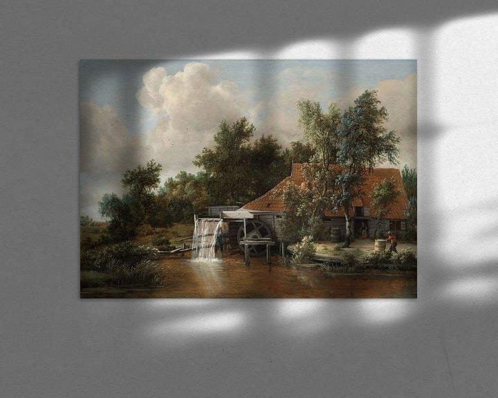Beispiel: Wassermühle - Meindert Hobbema