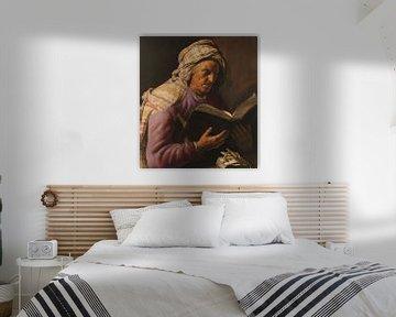 Lesende alte Frau, Jan Lievens