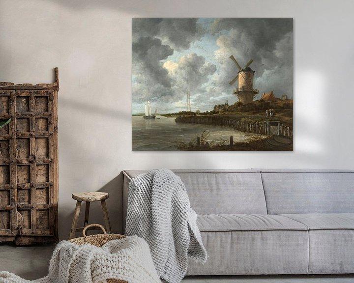 Sfeerimpressie: De molen bij Wijk bij Duurstede, Jacob Isaacksz. van Ruisdael