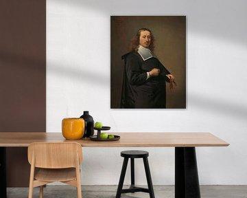 Porträt von Willem Jacobsz Baert, Caesar Boethius van Everdingen