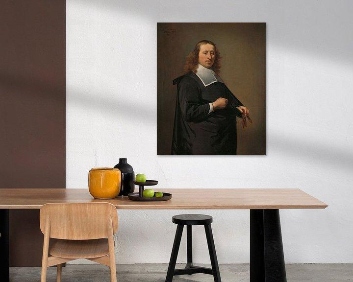 Beispiel: Porträt von Willem Jacobsz Baert, Caesar Boethius van Everdingen