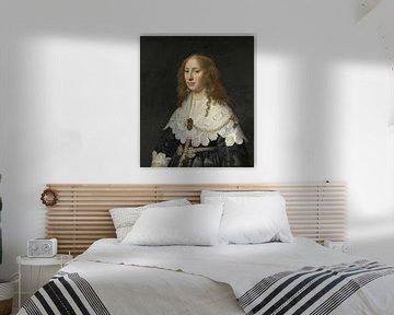 Porträt von Aegje Hasselaer, Michiel Jansz. van Mierevelt