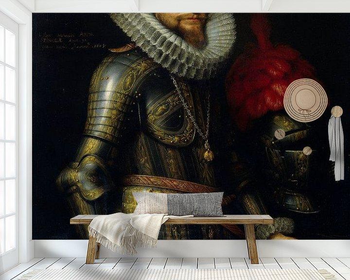 Beispiel fototapete: Porträt von Ambrogio Spinola, Michiel Jansz. van Mierevelt