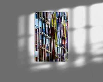 Colorful windows von Sander van Mierlo