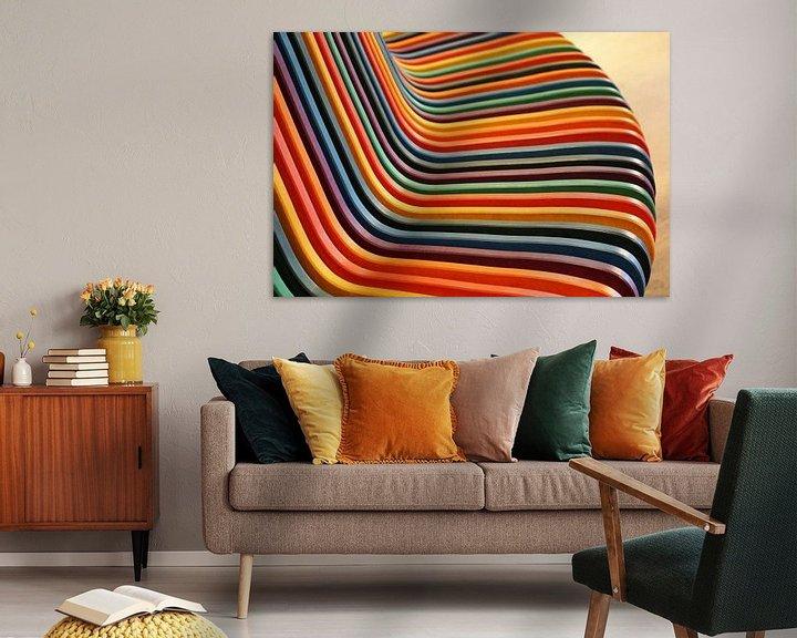 Sfeerimpressie: Regenboog van Ineke Klaassen
