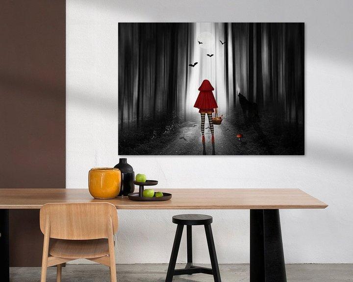 Sfeerimpressie: Roodkapje en de wolf van Monika Jüngling