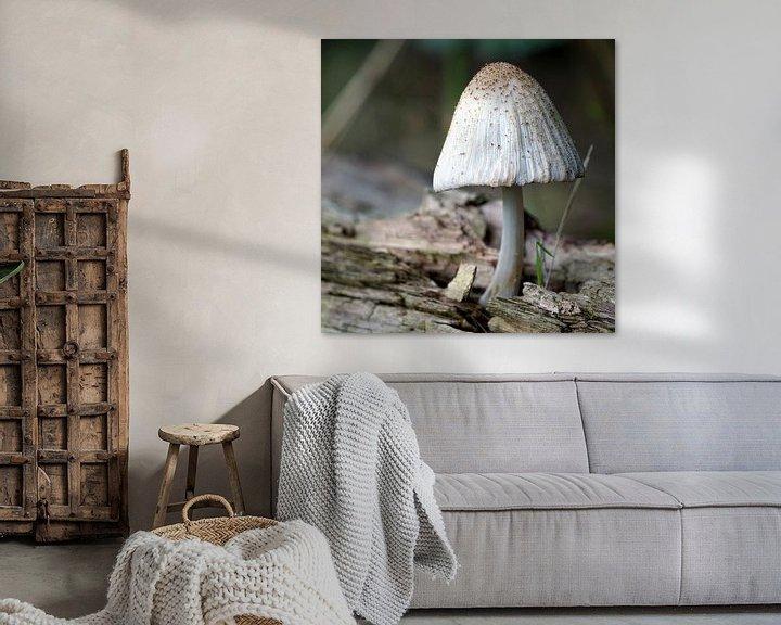 Sfeerimpressie: Paddenstoel van Ineke Klaassen