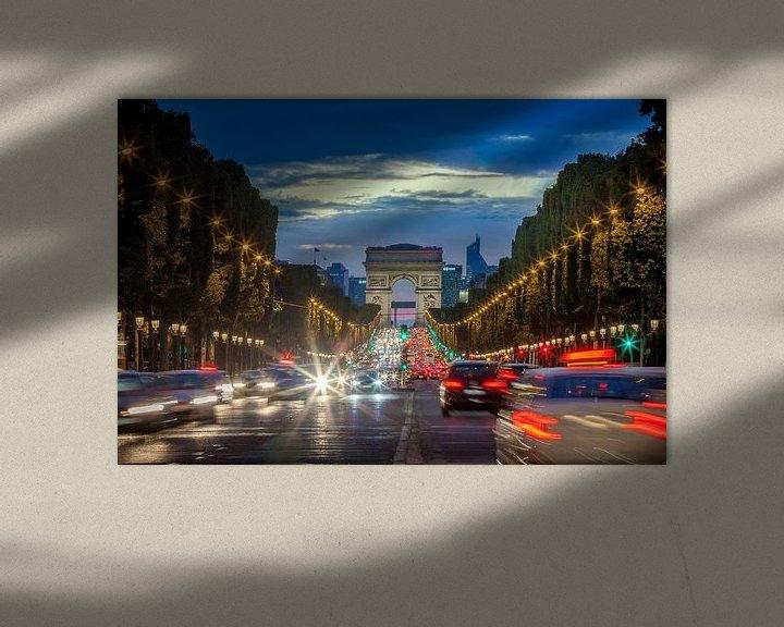 Sfeerimpressie: Champs Elysees van Hans van der Grient