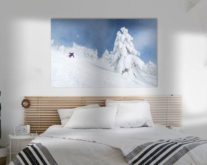 Impression: Ski de poudreuse au Japon sur Menno Boermans