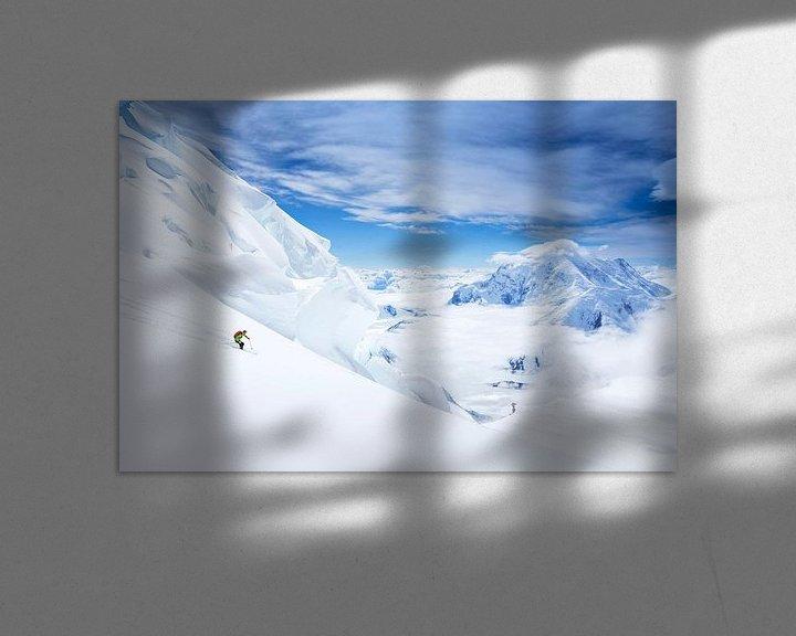 Sfeerimpressie: Ski Denali, Alaska van Menno Boermans